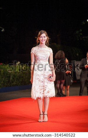Venice, Italy - 06 September 2015: Maria Clara Alonso attends a premiere for 'El Clan' during the 72nd Venice Film Festival