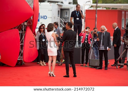 VENICE, ITALY - SEPTEMBER 03: Milla Jovovich attends the 'Cymbeline' Premiere during the 71st Venice Film Festiva on September 3, 2014 in Venice, Italy.