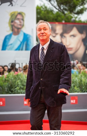 Venice, Italy - 04 September 2015: Pierre-Olivier Bardet attends a premiere for 'Francofonia' during the 72nd Venice Film Festival