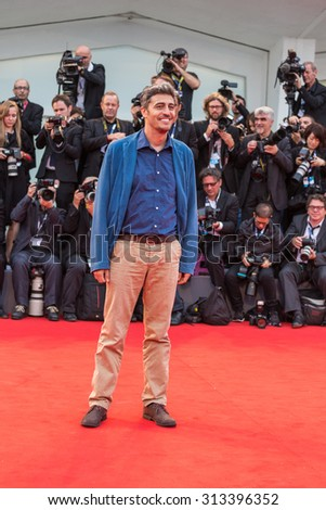 Venice, Italy - 04 September 2015: Pif attends a premiere for 'Black Mass' during the 72nd Venice Film Festival