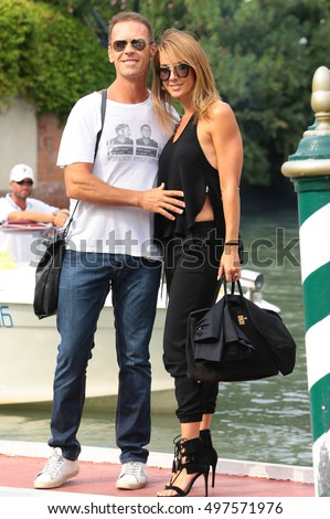 VENICE, ITALY - SEPTEMBER 04: Rocco Siffredi during the 73th Venice Film Festival 2016 in Venice, Italy