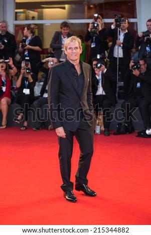 VENICE, ITALY - SEPTEMBER 05: singer Michael Bolton attends 'Good Kill' Premiere during the 71st Venice Film Festival at Sala Grande on September 5, 2014 - stock photo