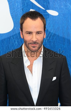 VENICE, ITALY - SEPTEMBER 02: Tom Ford during the 73th Venice Film Festival 2016 in Venice, Italy