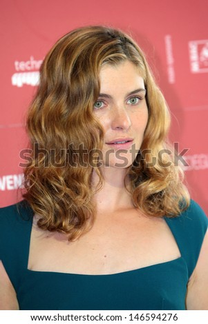 VENICE, ITALY - SEPTEMBER 03: Vittoria Puccini at the Venice Film Festival on September 03, 2012 in Venice, Italy