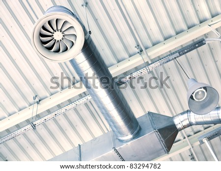 Ventilation system - stock photo