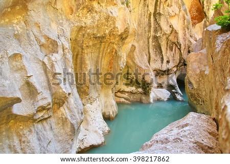 Verdon Gorge - stock photo