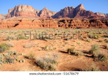 Vermilion Cliffs National Monument - stock photo