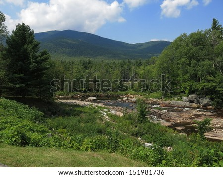 Vermont Creek - stock photo