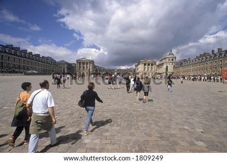 Versailles, France - stock photo