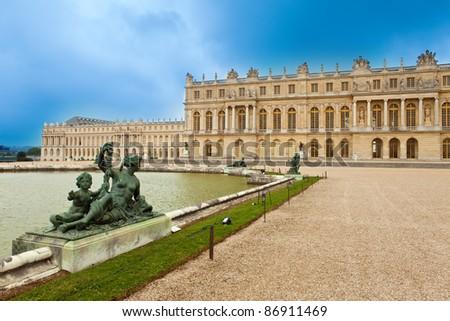 Versailles, France. Palace - stock photo