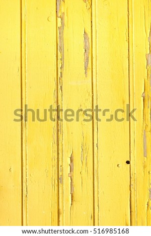 Vertical Barn Wooden Wall Plank Yellow Stock Photo (Royalty Free ...