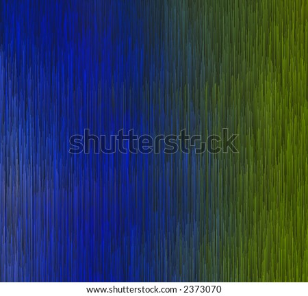 vertical blue and green abstract design for webpage or other graphic or artistic piece. - stock photo
