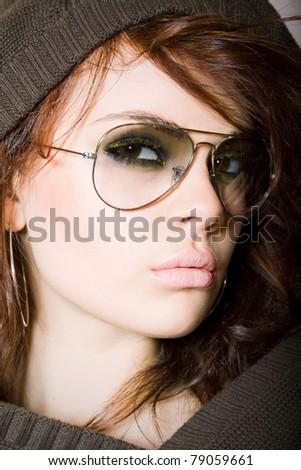 Vertical closeup - stock photo