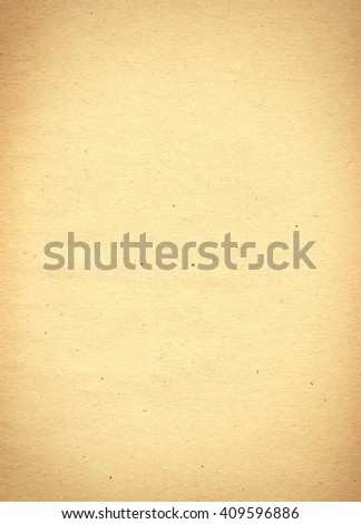 vertical empty old vintage paper background. Paper texture - stock photo