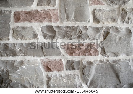 vertical wall carving background from multi coloured brick wall stock images royalty