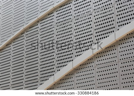 Vertical metal wall background . fence wall.