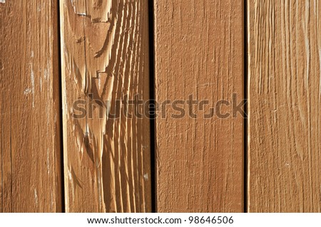 vertical red orange wood slat background - stock photo