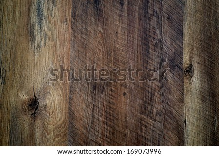 Vertical rough wooden boards - stock photo
