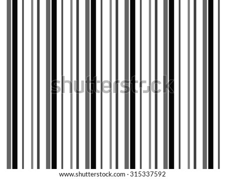 Vertical Stripes - stock photo