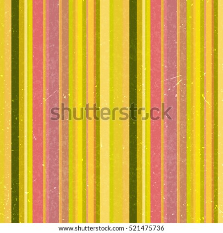 Vertical stripes pattern, seamless texture background. Ideal for printing onto fabric and paper or decoration. Yellow, pink colors.