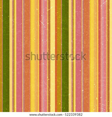 Vertical stripes pattern, seamless texture background. Ideal for printing onto fabric and paper or decoration. Yellow, pink, green colors.