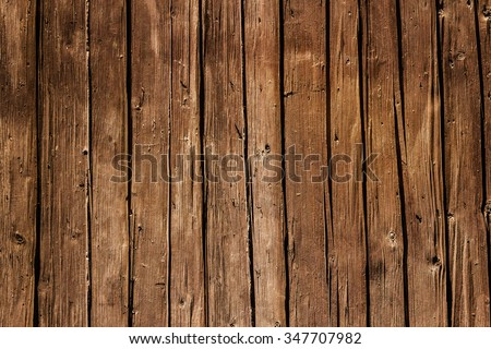 Vertical Wood Texture - Wooden Planks - stock photo