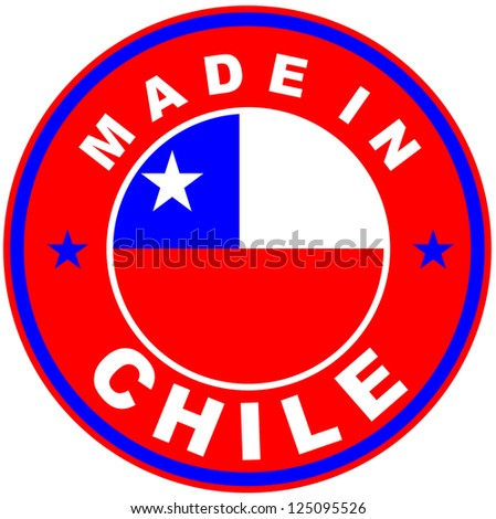 very big size made in chile country label