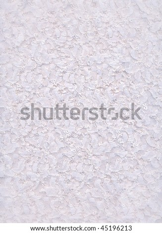 Very detailed lace fabric background - stock photo