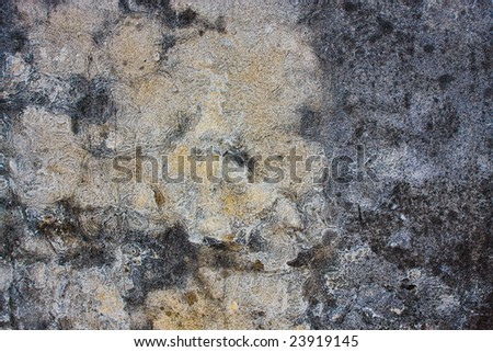 Very grungy cement wall