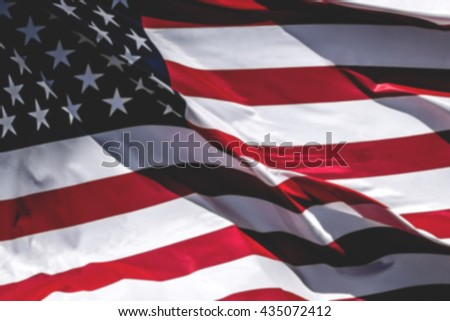 Waving American Flag High Resolution For Kids