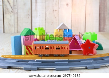 very many kids toys - stock photo