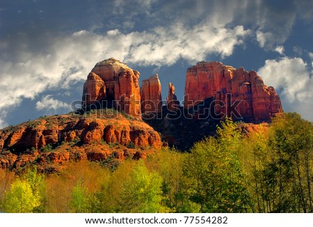 Very Nice Image Of the rocks in Sedona arizona - stock photo