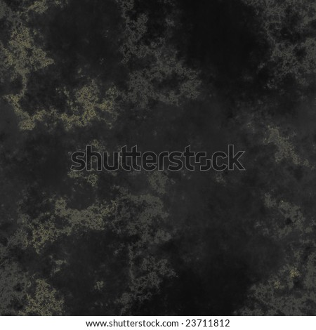 Very soft black venitian marble texture, speckled with gold veins (seamless) - ideal for 3D renderings - stock photo