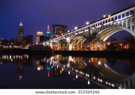 Veterans Bridge - stock photo