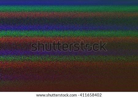VHS Failure Glitch Texture - stock photo