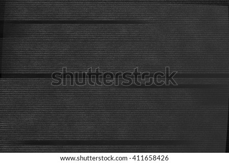 VHS Glitch Texture - stock photo