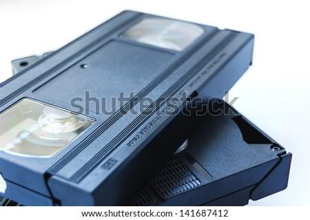 vhs tape - stock photo