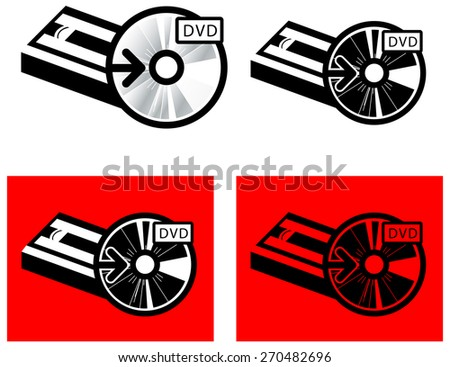 VHS to DVD Media Transfer - stock photo