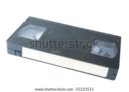 VHS Video Cassette - stock photo