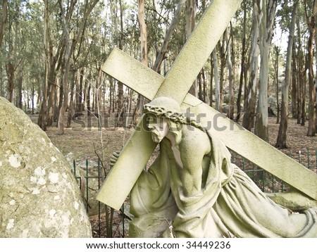Via Crucis, City of Tandil, Argentina - stock photo