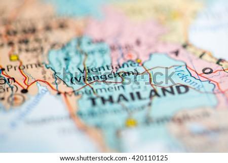 Viangchan Laos Stock Photo 420110125 Shutterstock