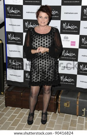 Vicky Entwhistle arrives for the Malmaison Hotel Liverpool re-opening party.. 23/09/2011  Picture by Steve Vas/Featureflash