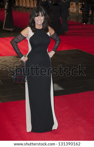 Vicky Michelle arriving the UK Premiere of Run for your Wife, Odeon Cinema, Leicester Square, London. 05/02/2013 Picture by: Simon Burchell