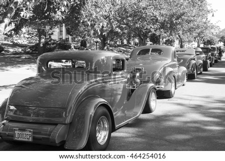 berlin may 28 small truck ford stock photo 91255742