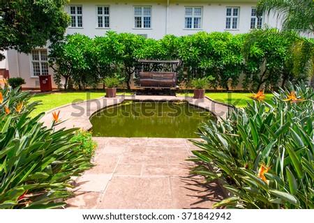 Stock images royalty free images vectors shutterstock for Garden design zimbabwe