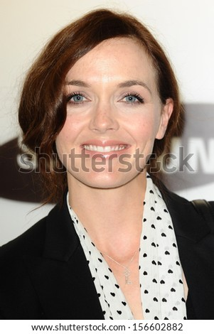 Victoria Pendleton arrives for the Samsung Galaxy Gear and Galaxy Note 3 UK launch at the ME Hotel, London. 24/09/2013 - stock photo