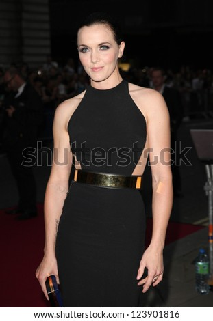 Victoria Pendleton arriving for the 2012 GQ Men Of The Year Awards, Royal Opera House, London. 05/09/2012 Picture by: Alexandra Glen - stock photo