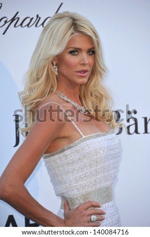 Victoria Silvstedt at amfAR's 20th Cinema Against AIDS Gala at the Hotel du Cap d'Antibes, France May 23, 2013  Antibes, France - stock photo