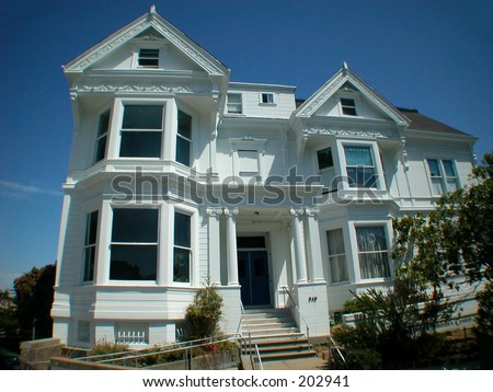 Victorian house in San Francisco