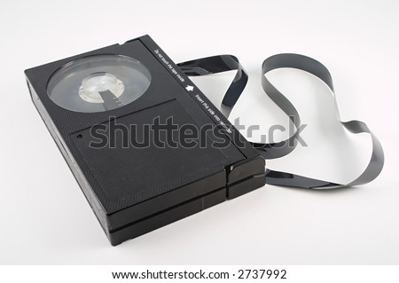 Video cassette tape  malfunction